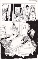 1001 3 pg 5 Issue 3 Page 5 Comic Art