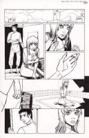 1001 3 pg 9 Issue 3 Page 9 Comic Art