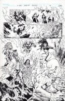 X-men Messiah Complex Chapter 1 pg 16 Marauders splash Issue 1 Page 16 Comic Art