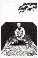 Dead Man's Run 1 rejected Cover Issue 1 Comic Art