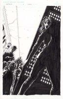 Dead Man's Run 4 Cover Issue 4 Comic Art