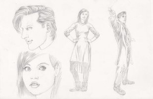 Doctor Who Tryout Page Comic Art