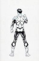 Green Lantern official character sheet new 52 turnaround back Comic Art