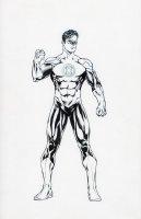 Green Lantern official character sheet new 52 turnaround front Comic Art