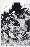 Planet of the Apes 5 Cover Comic Art