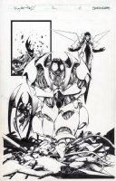 Weapon Zero 12 pg 6 Comic Art