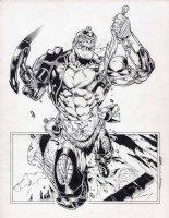 Trapjaw Masters of the Universe MotU pinup Comic Art