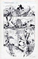 Medieval Spawn Witchblade 2 pg 10 Comic Art