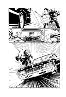Mayday 5 pg 11 Comic Art