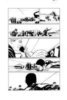 Mayday 5 pg 17 Comic Art