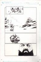 God of War 0 pg 2 Comic Art
