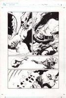 God of War 0 pg 4 Comic Art