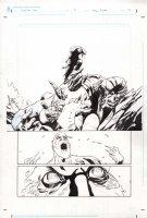 God of War 0 pg 12 half splash Comic Art