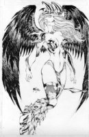 Fred Benes Angelus Pinup Witchblade Comic Art