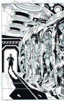 Justice League vs Suicide Squad 3 cover Comic Art