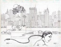 Tomb Raider 25 pg 10-11 dps Comic Art