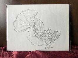 Fish Prelim sketch 2 Comic Art