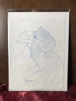 Hornbill prelim sketch Comic Art
