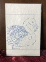 Flamingo Home prelim sketch  Comic Art