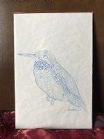 Hummingbird prelim sketch Comic Art