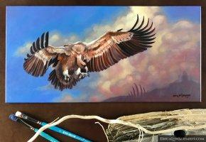 Vulture Study Comic Art