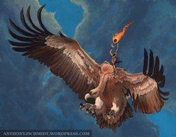 Vulture Mage Comic Art