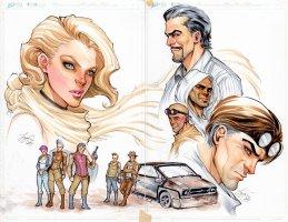 Lola XOXO 4 Covers C and D  Comic Art