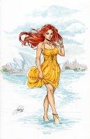 Lola XOXO: Wasteland Madam 2 Supanova Variant Cover Comic Art