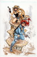 Lola XOXO: Wasteland Madam 3 Diamond RRP Variant Cover Comic Art