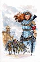Lola XOXO: Wasteland Madam 3 Cover Comic Art