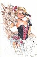 Lola XOXO 4 Dragon Con Variant Cover Comic Art