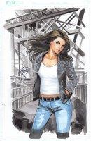 Jessica Jones 1 Cover Comic Art