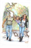 Jessica Jones 2 Cover Comic Art