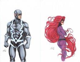Uncanny Inhumans 0 Cover Comic Art