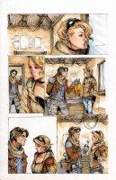 Lola XOXO 6 pg 23 Comic Art