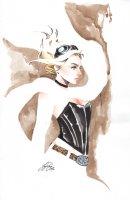 Lola XOXO vol 2 3 C Cover Comic Art