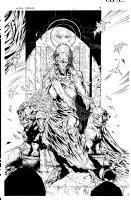 More than Mortal Famine 5 pg 3 Comic Art