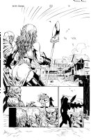 More than Mortal Famine 5 pg 10 Comic Art