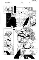 More than Mortal Famine 5 pg 14 Comic Art