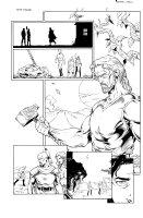 More than Mortal Famine 6 pg 5 Comic Art