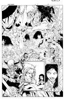 More than Mortal Famine 6 pg 6 Comic Art