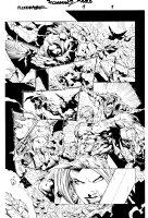 Bloodrayne 1 pg 2 Comic Art
