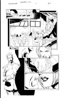 Bloodrayne 1 pg 5 Comic Art