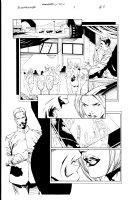 Bloodrayne 1 pg 5 Comic Art