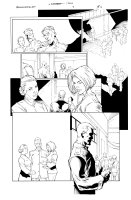 Bloodrayne 1 pg 6 Comic Art