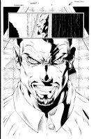 Bloodrayne 1 pg 9 Comic Art
