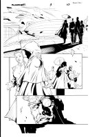Bloodrayne 1 pg 10 Comic Art