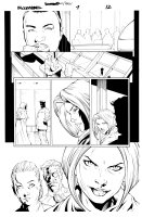 Bloodrayne 1 pg 12 Comic Art