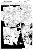 Bloodrayne 1 pg 15 Comic Art