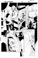Bloodrayne 1 pg 16 Comic Art